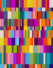 Background of colorful rectangles, eps10 vector