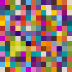 Background of colorful squares, eps10 vector