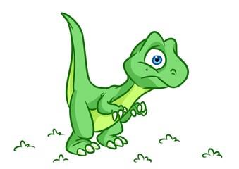 Dinosaur  cartoon Illustrations isolated image animal character