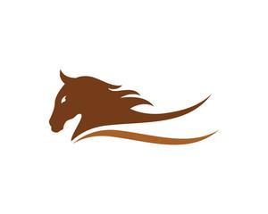 Horse Logo Template Vector