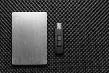 Usb stick and external hard drive