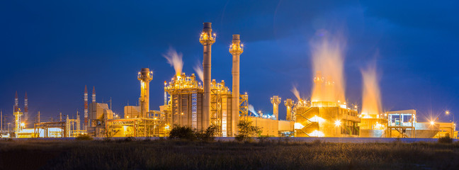 oil and gas , Petrochemical industrial plant power station