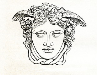 Medusa Rondanini (from Meyers Lexikon, 1895, 7/766)