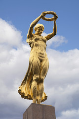 The Golden Lady of Luxembourg