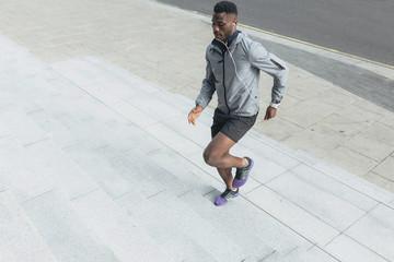 Young Man Urban Runner . Dublin Ireland
