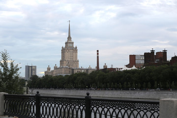 Early morning in Moscow