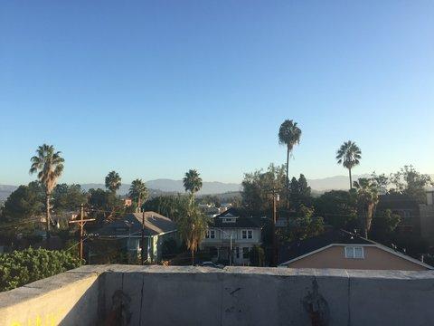 Skyline in Los Angeles