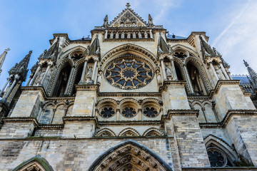 Notre-Dame de Reims cathedral (Our Lady of Reims, 1275). France.