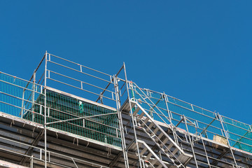 Gerüst mit Treppe