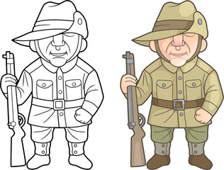 Second World War Soldiers of the Australian Army
