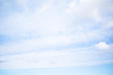blue sky in europe