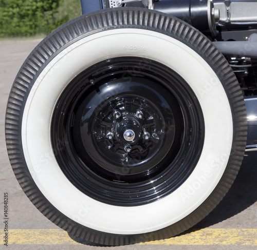 Vintage Whitewall Tires 16