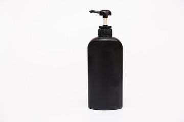 Pump lotion cosmetic bottles