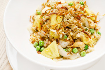 stir fry with chicken and pineapple