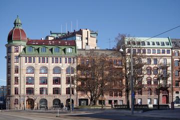 Am Esperantoplatsen in Göteborg