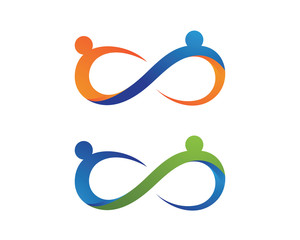 People health nature logo and symbol