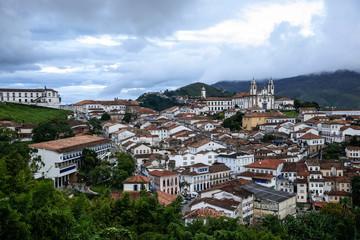 View of Ouro Preto, Minas Gerais, Brazil
