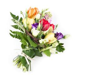 Spring fllowers bouquet