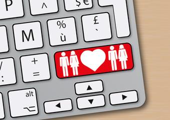 amour - cœur - libertin - couple échangiste - sexe - en ligne - site web