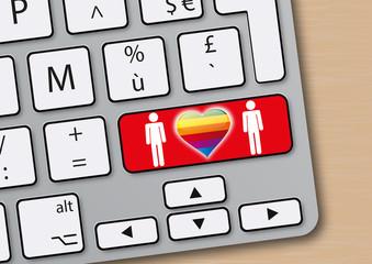 amour - cœur - homosexuel - gay - sexe - en ligne - site web