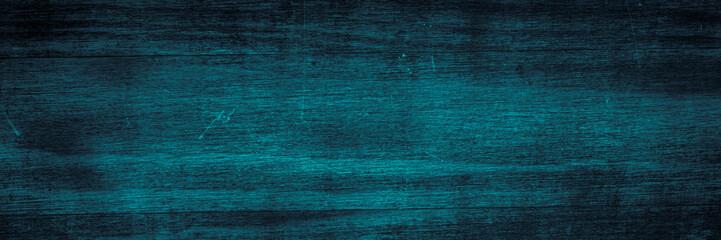 Dark blue wooden texture. Long banner format