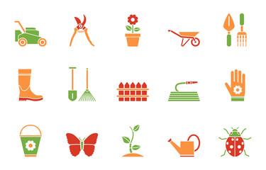 Garten Iconset - Farbe