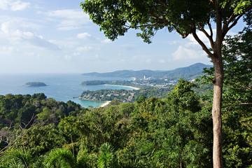 Tropical seascape Phuket South of Thailand.