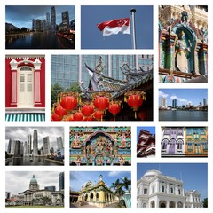 Singapore - photo collage