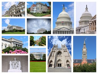 Washington USA - photo collage