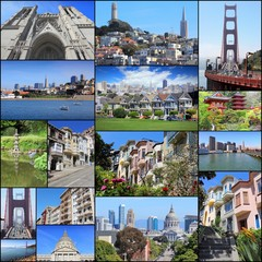 San Francisco - photo collage