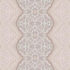 lace ribbon seamless paisley pattern
