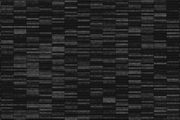 Black Abstract Tiles Background Texture
