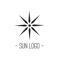 Sun Logo for Company or Business