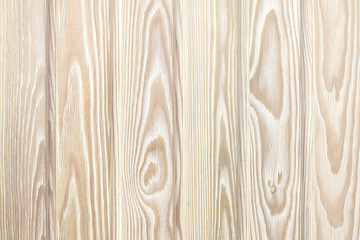 Wooden wall from boards of larch as background