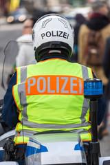 german motorcycle police