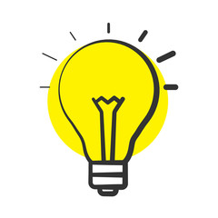 Good idea color icon