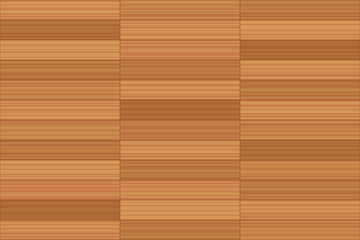 Stack bond parquet - vector illustration of a parallel flooring pattern - seamless extension of this wooden segment in all directions possible.