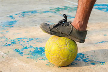 Soccer, Stadium, Goal, Playing, Equipment