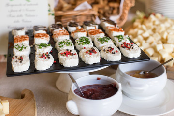 assortment Appetizers and finger food