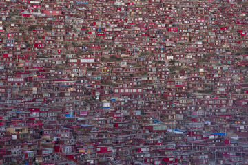 Asia,China, Sichuan, West Sichuan, Seda, Larung Gar, Buddhist College,