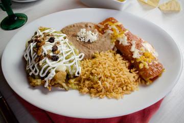 Chile Rellano Platter