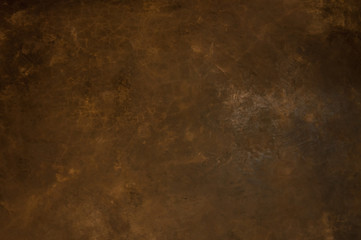 Texture of a orange brown concrete as a background, brown grungy wall - Great textures for background Wall mural