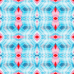 Abstract seamless pattern with lots of angular elements.