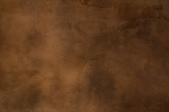 Texture of a orange brown concrete as a background, brown grungy wall - Great textures for background