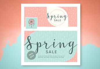 Social Media Branding Pack for Spring 2