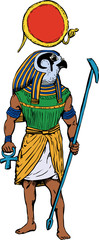 Ancient Egyptian God Rah
