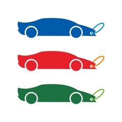 tag car logo vector