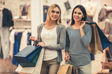 Girls going shopping