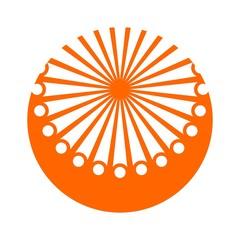 sun logo vector.