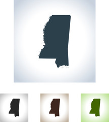 map of Mississippi